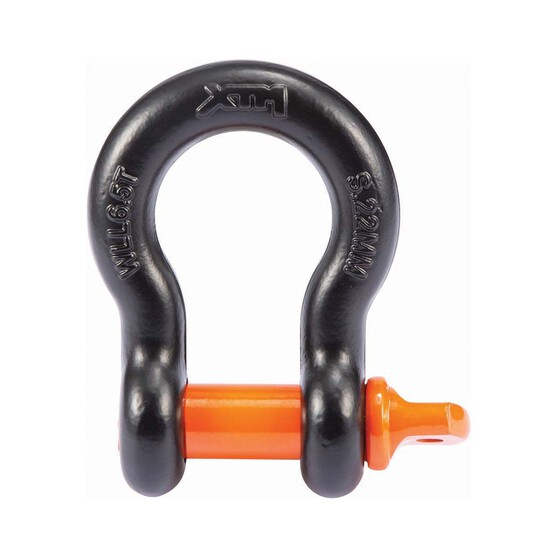 XTM Bow Shackle 6.25T 22 x 25mm, , bcf_hi-res