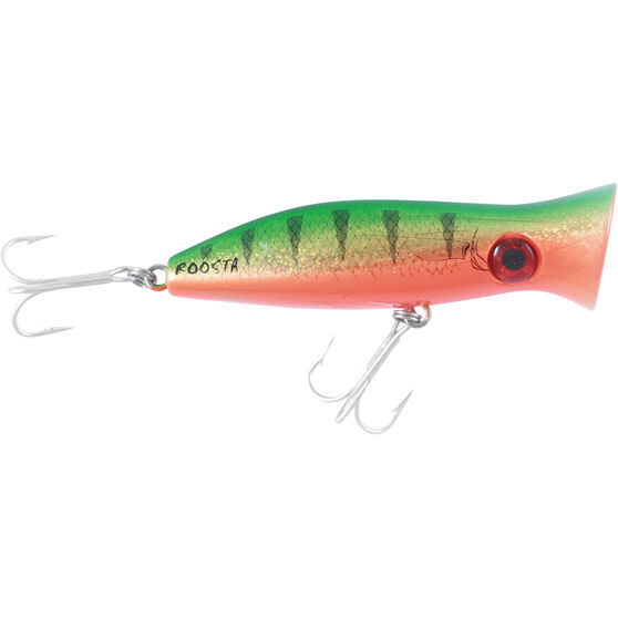 Halco Roosta Pop Surface Lure 80mm Gold Green, Gold Green, bcf_hi-res