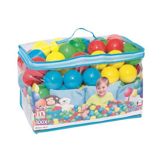 Bestway Kids Inflatable Ball 100 Pack, , bcf_hi-res
