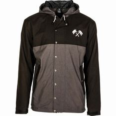 Men's Ocean Lifestyle Jacket Black / Grey S, Black / Grey, bcf_hi-res