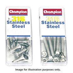 Champion Pan Head Screws, , bcf_hi-res