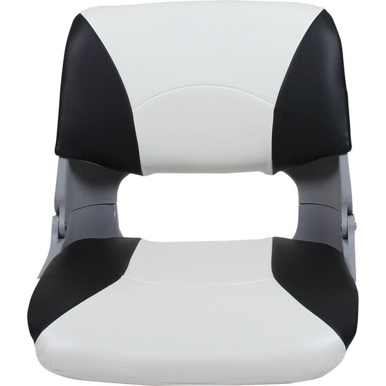 Blueline Tinnie Pro Boat Seat Charcoal / White, Charcoal / White, bcf_hi-res
