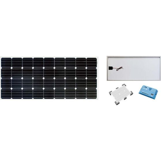 Solution X Caravan Solar Panel Kit 160w, , bcf_hi-res