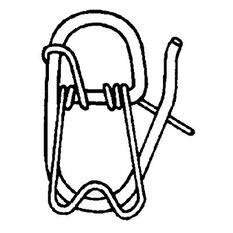 Ezy Lift Anchor Clip to suit 8-10mm Rope, , bcf_hi-res