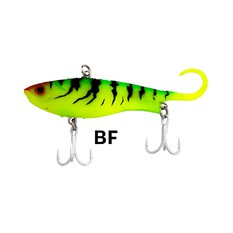 Zerek Fish Trap Vibe Lure 80mm 13.5g Blended Frog, Blended Frog, bcf_hi-res