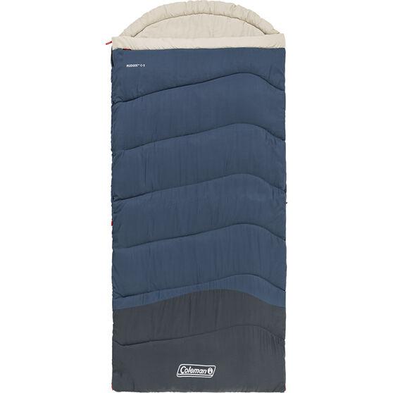 Coleman Mudgee Tall Hooded Sleeping Bag, , bcf_hi-res