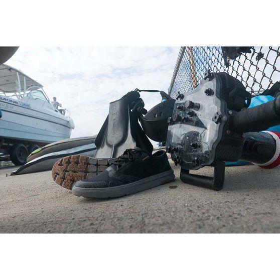 Quiksilver Men's Amphibian Plus Aqua Shoes, Grey / Orange, bcf_hi-res