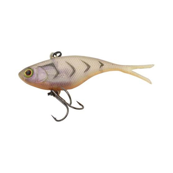 Jackall Mask Gene Soft Vibe Lure 70mm Brown Suji Shrimp, Brown Suji Shrimp, bcf_hi-res