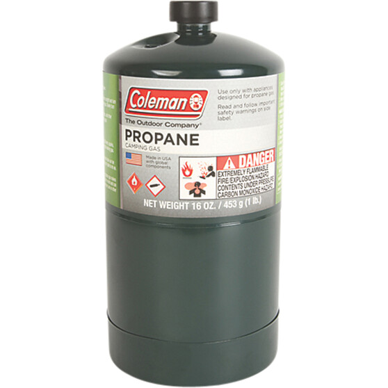 Coleman Propane Gas Bottle 453g, , bcf_hi-res