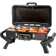 Gasmate Adventurer Deluxe Double Burner Portable BBQ, , bcf_hi-res