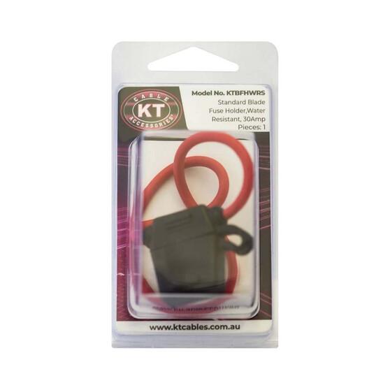 KT Cables Water Resistant Standard Blade Fuse Holder, , bcf_hi-res