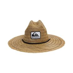 Quiksilver Waterman Men's The Tier Straw Hat Natural S / M, Natural, bcf_hi-res