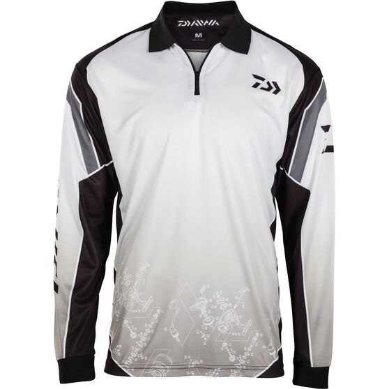 Daiwa Men's Schematic Sublimated Polo, , bcf_hi-res