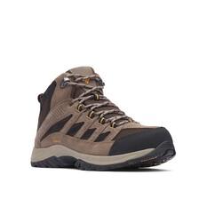 Columbia Men's Crestwood Mid Hiker Boots Cordovan / Squash 8, Cordovan / Squash, bcf_hi-res