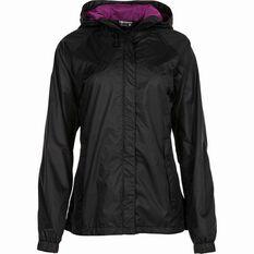 Outdoor Expedition Women's Coastal Jacket Black 8, Black, bcf_hi-res