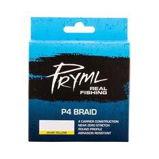 Pryml P4 Braid Line 150yds Yellow 6lb, Yellow, bcf_hi-res