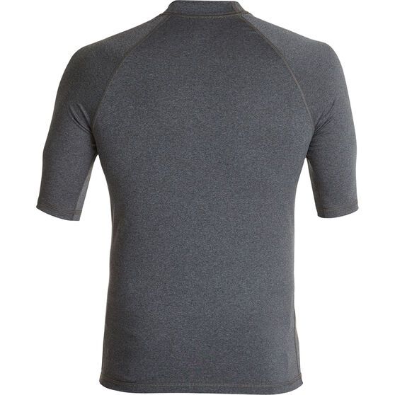 Quiksilver Men's Explore Tee, Charcoal Heather, bcf_hi-res