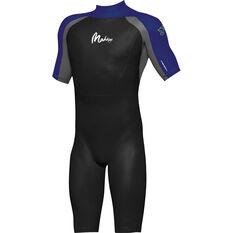Men's Superstretch Spring 2mm Wetsuit Black / Blue L, Black / Blue, bcf_hi-res