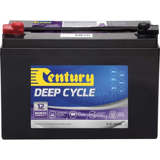 Century Deep Cycle AGM Battery C12-105DA, , bcf_hi-res