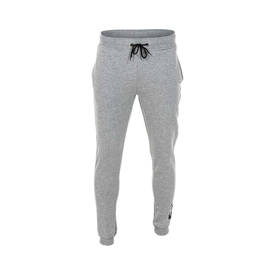 Tide Apparel Men's Logo Trackie Pants, Grey Marle, bcf_hi-res