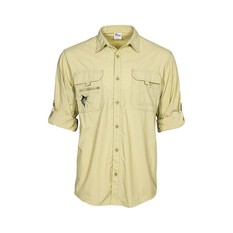 The Great Northern Brewing Co. Mens Long Sleeve Fishing Shirt, Sand, bcf_hi-res