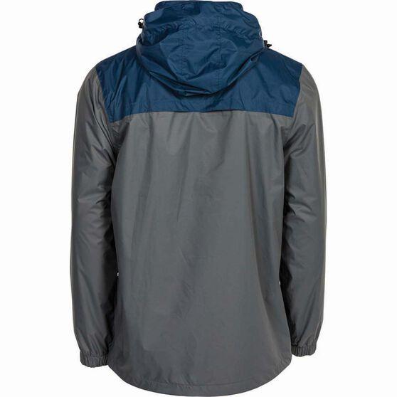 Outdoor Expedition Men's Storm Shell II Jacket, Grey / Navy, bcf_hi-res