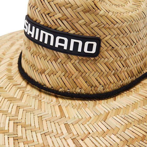 Shimano Men's Sunseeker Straw Hat, , bcf_hi-res