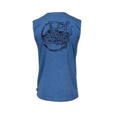 Quiksilver Waterman Men's Crawl Intentacles Tank, Ensign Blue, bcf_hi-res
