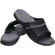 Crocs Men's Modi Sport Slide Black / Graphite 7, Black / Graphite, bcf_hi-res