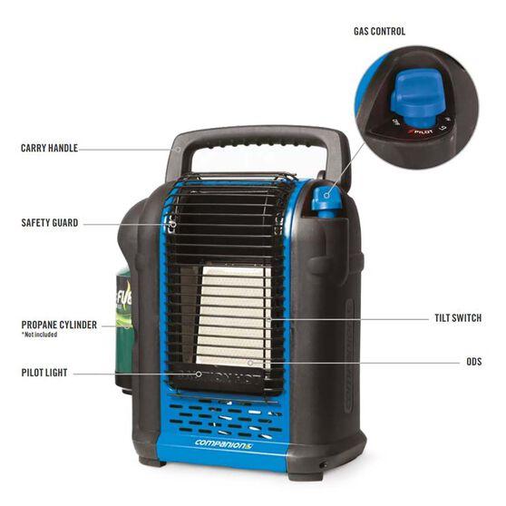 Companion Portable Propane Heater, , bcf_hi-res