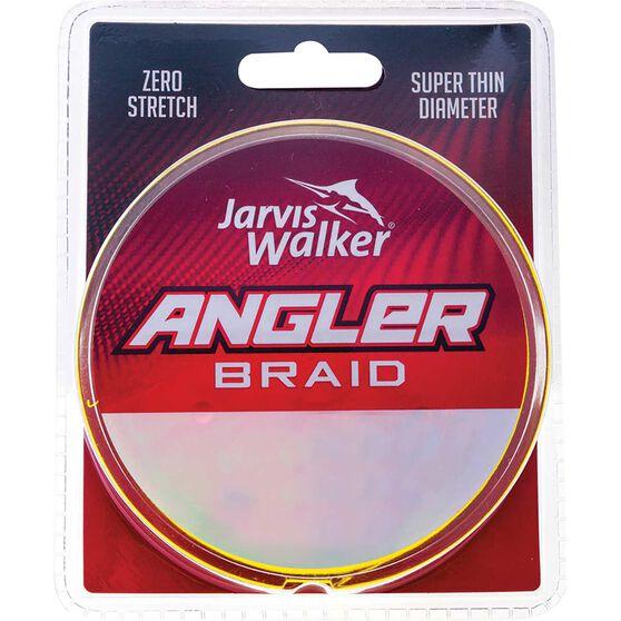 Jarvis Walker Angler Yellow Braid Line 150yd, , bcf_hi-res