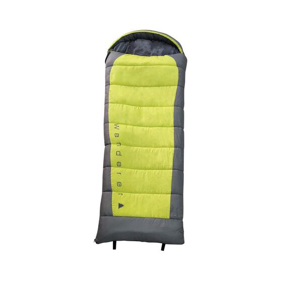 Wanderer PrimeFlame Hooded Sleeping Bag, , bcf_hi-res