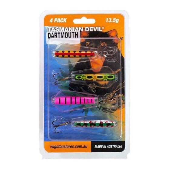 Wigston Tassie Devil Hard Body Lure 4 Pack Dartmouth, Dartmouth, bcf_hi-res