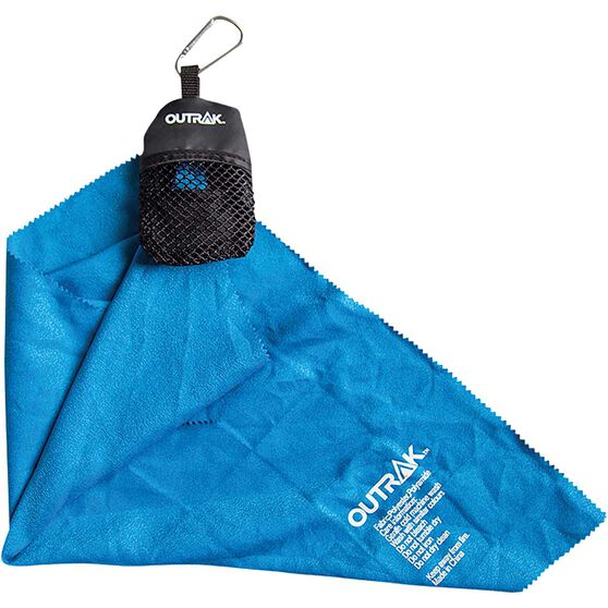 OUTRAK Hiking Micro Towel Blue, Blue, bcf_hi-res