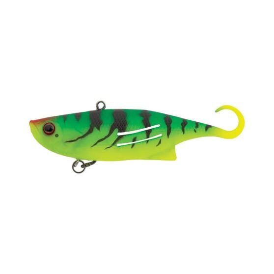 Zerek Weedless Fish Trap Vibe Lure 9.5cm Blended Frog, Blended Frog, bcf_hi-res
