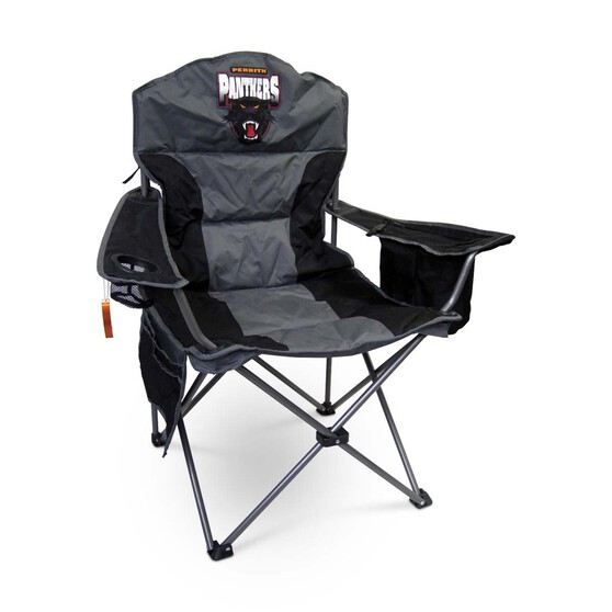 NRL Penrith Panthers Camp Chair, , bcf_hi-res