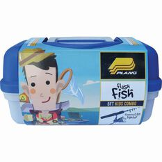 Plano Flash Fish Tackle Kit Junior Combo Blue No, Blue, bcf_hi-res