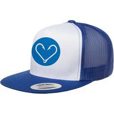 PELAGIC INC Women's Heart Hooks Cap Blue OSFM, Blue, bcf_hi-res