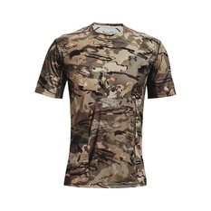 Under Armour Men's Isochill Brushline Tee Forest Camo / Black S, Forest Camo / Black, bcf_hi-res
