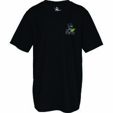 The Mad Hueys Kids Offshore Camo Short Sleeve UV Tee Black 8, Black, bcf_hi-res