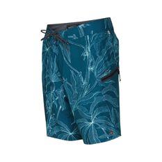 Quiksilver Waterman Men's Paddler Print Boardies Delphinium Blue 32, Delphinium Blue, bcf_hi-res