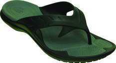 Crocs Men's Modi Sport Thongs Black / Grey US 7, Black / Grey, bcf_hi-res