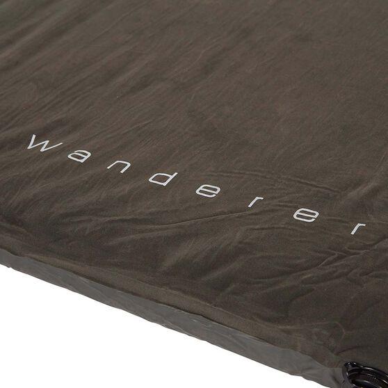 Wanderer 4x4 Self Inflatable Mat Single, , bcf_hi-res