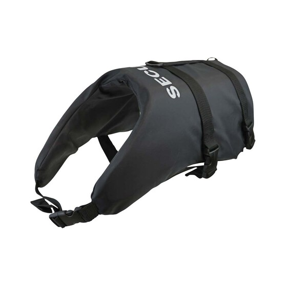 Marlin Australia Dog Security Vest PFD Black / White 2XL - 3XL, , bcf_hi-res