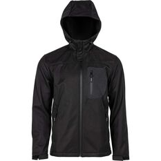 Daiwa Trekker 2.0 Softshell Jacket, Black, bcf_hi-res