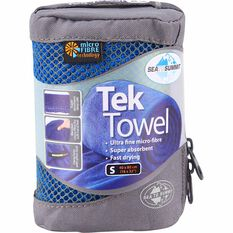 Sea to Summit Tek Towel Cobalt S, Cobalt, bcf_hi-res