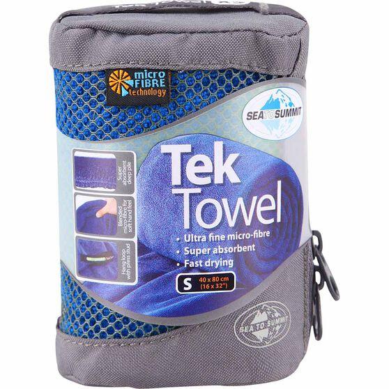 Sea to Summit Tek Towel, Cobalt, bcf_hi-res