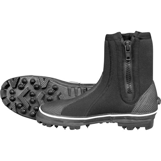 Mirage Unisex Rockhopper Dive Boots Black 8, Black, bcf_hi-res