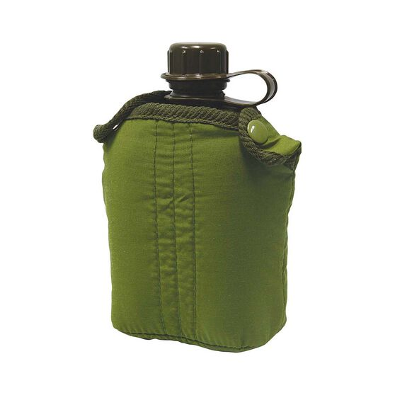 Elemental Plastic GI Canteen with Cover 840ml, , bcf_hi-res