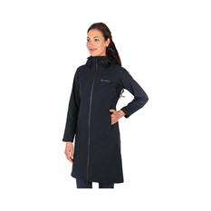 Macpac Women's Dispatch Long Jacket Black 8, Black, bcf_hi-res